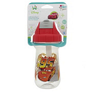 The First Years Disney Cars 10 OZ Flip Top Straw Cup