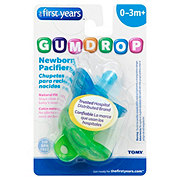 The First Years Gumdrops Newborn Pacifier, Assorted Colors