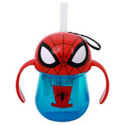 The First Years Marvel Spider-Man Straw Cup with Handles