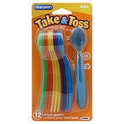 The First Years Take & Toss Infant Spoons 4m+