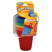 The First Years Take & Toss Spill-Proof 7 OZ Sippy Cups