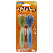 The First Years Take & Toss Toddler Flatware 9m+