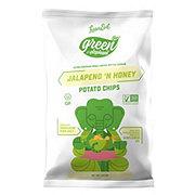 The Green Elephant Jalapeno & Honey Organic Potato Chip