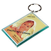 The Hillman Group Photo Frame Key Ring