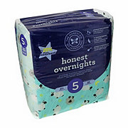 The Honest Company Overnight Diapers, Sleepy Sheep, 22 ct