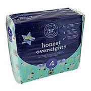 The Honest Company Overnight Diapers, Sleepy Sheep, 26 ct