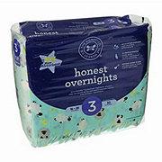 The Honest Company Overnight Diapers, Sleepy Sheep, 30 ct
