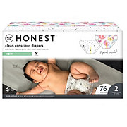 The Honest Company Painted Feathers + Bunnies Diapers 76 ct
