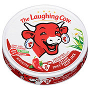 The Laughing Cow Creamy Spicy Pepper Jack Spreadable Cheese Wedges