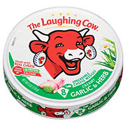 The Laughing Cow Light Garlic Herb Wedges