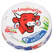 The Laughing Cow Original Creamy Swiss Flavor Cheese Wedges