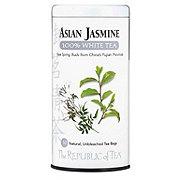 The Republic of Tea Asian Jasmine 100% White Tea Bags