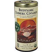 The Republic of Tea Biodynamic Organic Turmeric Cinnamon