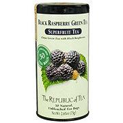 The Republic of Tea Black Raspberry Green Tea Bags