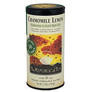 The Republic of Tea Chamomile Lemon Herbal Tea Bags