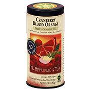 The Republic of Tea Cranberry Blood Orange Black Tea Bags