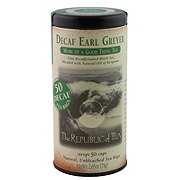 The Republic of Tea Decaf Earl Greyer Black Tea Bags