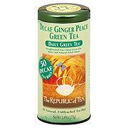 The Republic of Tea Decaf Ginger Peach Green Tea Bags