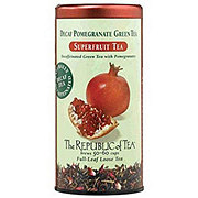 The Republic of Tea Decaf Pomegranate Green Tea Bags