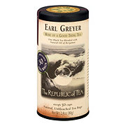 The Republic of Tea Earl Greyer Black Tea Bags