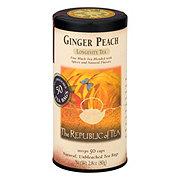 The Republic of Tea Ginger Peach Black Tea Bags