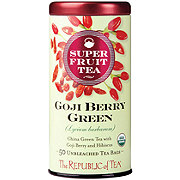 The Republic of Tea Goji Raspberry Green Tea Bags