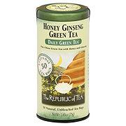 The Republic of Tea Honey Ginseng Green Tea Bags