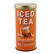 The Republic of Tea Iced Tea Ginger Peach Black Tea