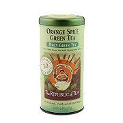 The Republic of Tea Orange Spice Green Tea Bags