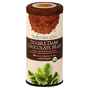 The Republic of Tea Organic Double Dark Chocolate Mate