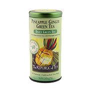 The Republic of Tea Pineapple Ginger Green Tea Bags