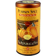 The Republic of Tea Pumpkin Spice Warm Up the Day Tea Bags