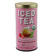 The Republic of Tea Strawberry Basil Iced Tea