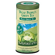 The Republic of Tea The People's Green Tea Decaf Bags