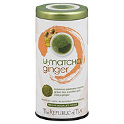 The Republic of Tea U-Matcha Ginger Green Tea Powder