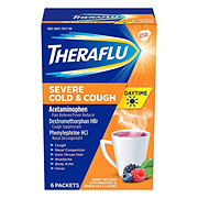 Theraflu Daytime Severe Cold Cough Berry Infused Menthol