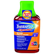 Theraflu ExpressMax Severe Cold & Cough, Nighttime
