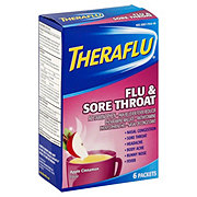 Theraflu Flu & Sore Throat, Apple Cinnamon