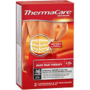 ThermaCare Heat Wraps Lower Back and Hip L-XL
