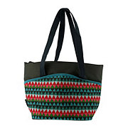 Thermos Colorful Triangles Tote