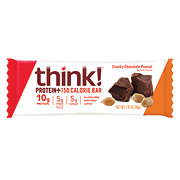 thinkThin Chunky Chocolate Peanut Protein & Fiber Bar