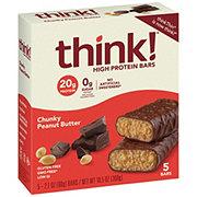 thinkThin Chunky Peanut Butter High Protein Bars