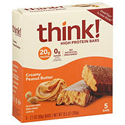 thinkThin Creamy Peanut Butter High Protein Bars