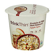 thinkThin Protein & Fiber Apple Spice Oatmeal Bowl