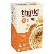 thinkThin Protein& Fiber Honey Peanut Butter Oatmeal Pouches