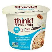 thinkThin Protein & Fiber Madagascar Vanilla Oatmeal Bowl