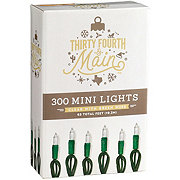 Thirty Fourth & Main 300 Inoor/ Outdoor Clear Mini Lights