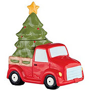 Thirty Fourth & Main Ceramic Christmas Truck Cookie Jar