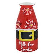 Thirty Fourth & Main Ceramic Milk For Santa Jug