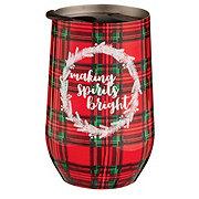 Thirty Fourth & Main Christmas Stemless Tumbler Spirits